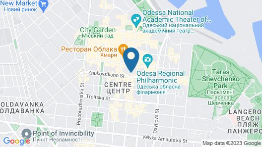 UNO Design Hotel Map