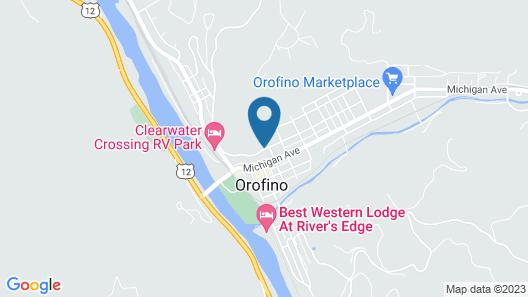White Pine Motel Map