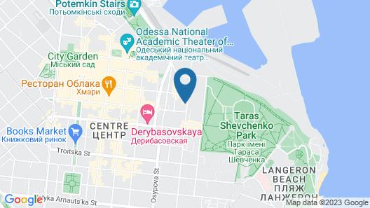 Hostel Koleso Map