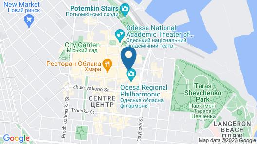 Metro Hotel Apartments Map