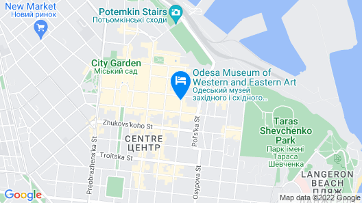 Metro Hotel Apartments Map