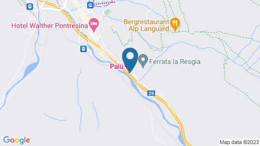 Hotel Palü Map