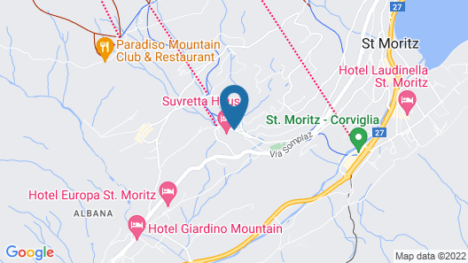 Suvretta House Map