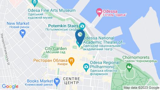Duke Hotel Map