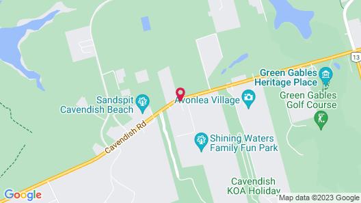 Avonlea Cottages Map