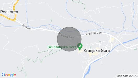 Apartment Petra, Kranjska Gora Map