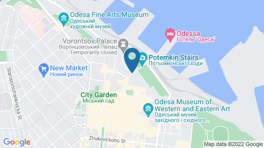 Hotel de Paris Odessa - MGallery Map