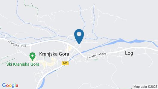 Kronau Chalet Resort Map
