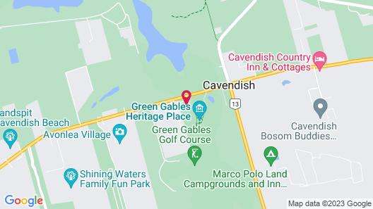 Green Gables Bungalow Court Map