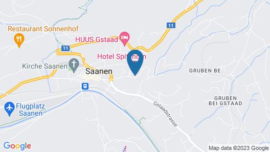 Hotel Spitzhorn Map