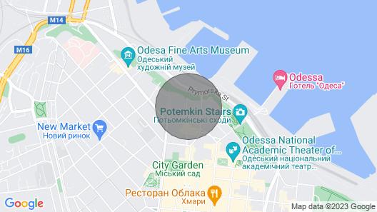 Boutique Apartments Gorgeous Gogol Map