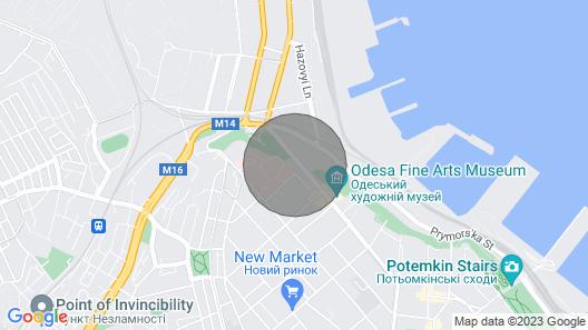Marinesko Apartments Map