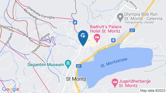 Schweizerhof Swiss Quality Hotel Map