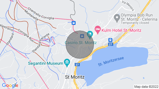 Central Penthouse With A Great Lake View-stmoritz Dorf Map