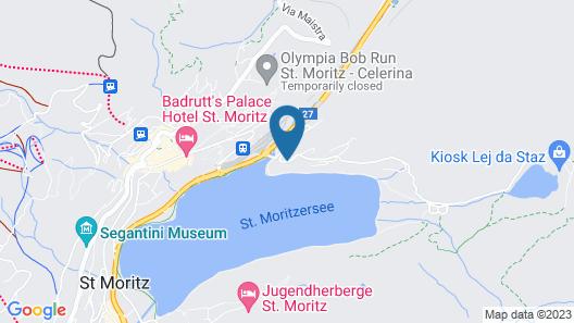 Hotel Waldhaus am See Map