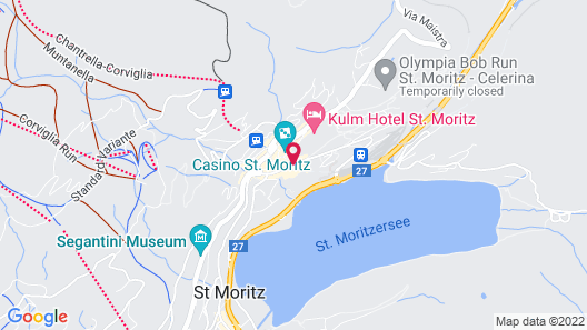Badrutt's Palace Hotel Map
