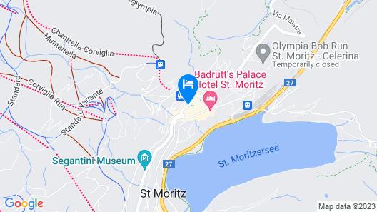 Crystal Hotel Map