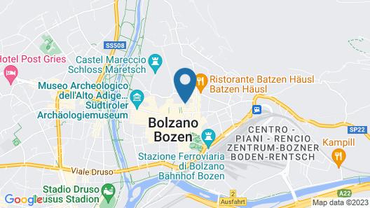 Tivoli Apartments Map