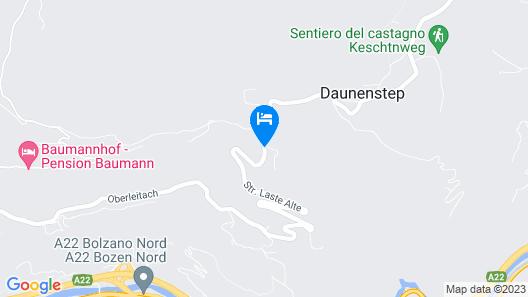 Hotel Unterinnerhof Map