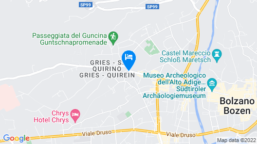 Hotel Post Gries Map