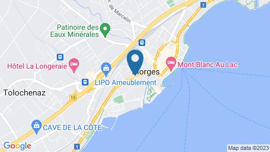 Hostellerie Le Petit Manoir Map