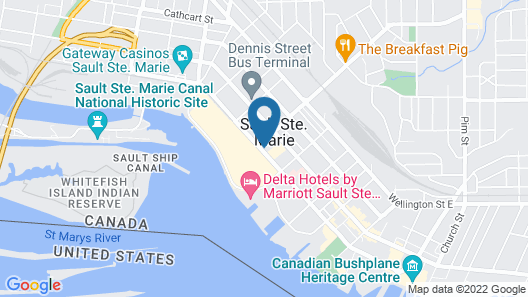 Holiday Inn Express Sault Ste Marie, an IHG Hotel Map