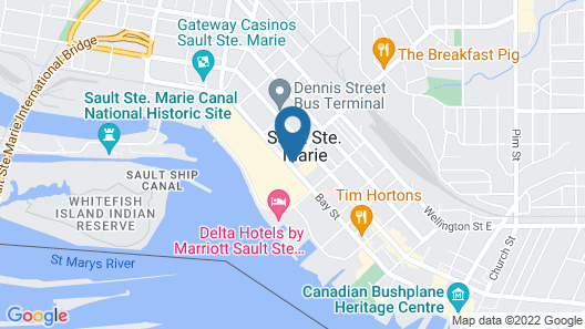 Holiday Inn Express Sault Ste Marie Map