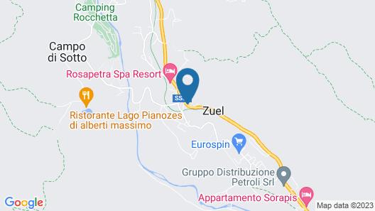 Faloria Mountain Spa Resort Map