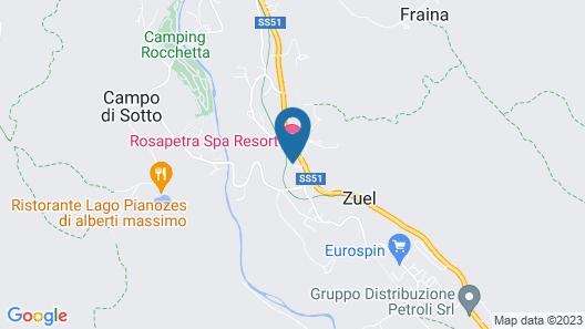 Rosapetra Spa Resort Map