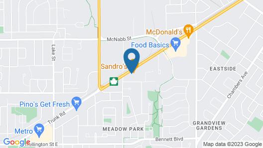 Holiday Motel Map