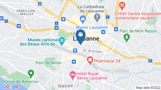 Hotel Elite Map