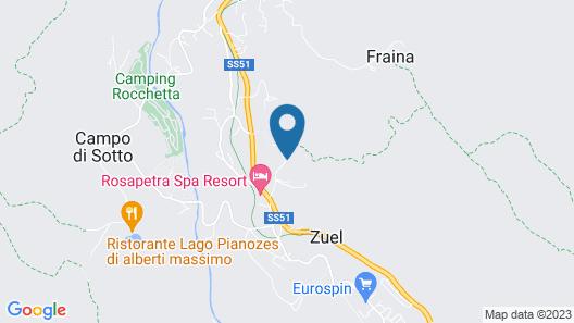 Hotel Mirage Map