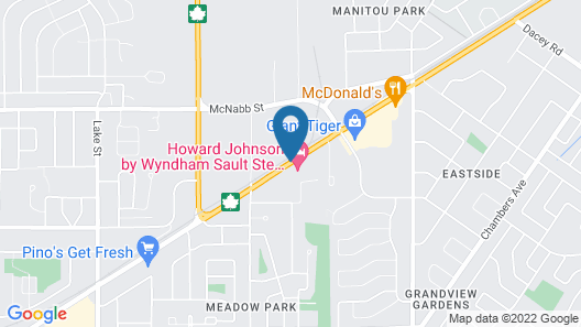 Howard Johnson by Wyndham Sault Ste Marie ON Map