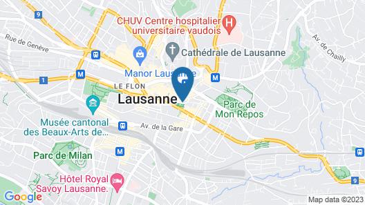 De la Paix Map