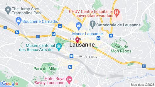 Lausanne Palace Map