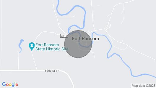 Charming Fort Ransom Getaway Map
