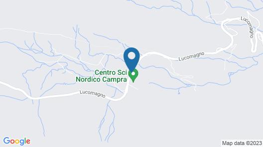 Campra Alpine Lodge & Spa Map