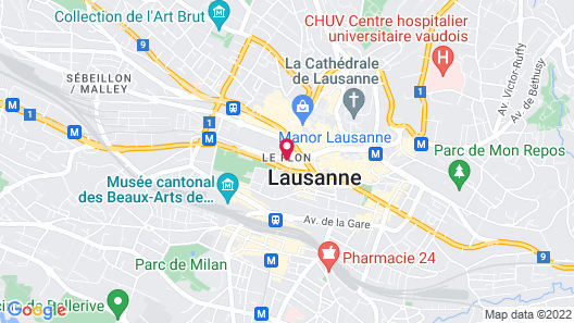 ibis Styles Lausanne Center Mad House Map