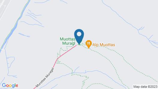Romantik Hotel Muottas Muragl Map