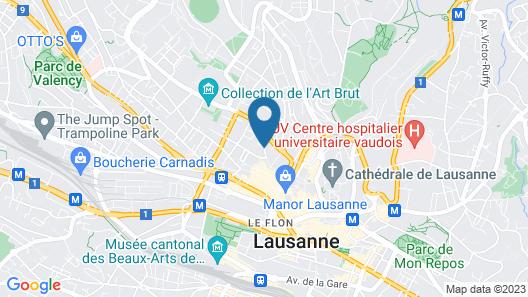 Hotel du Marche Map