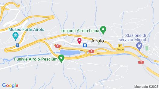 Hotel Forni Map