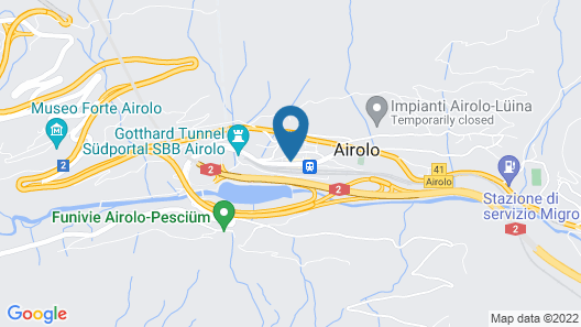 Hotel Forni Map