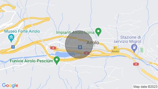 Vacation home Casa alla Stazione in Airolo - 6 persons, 3 bedrooms Map