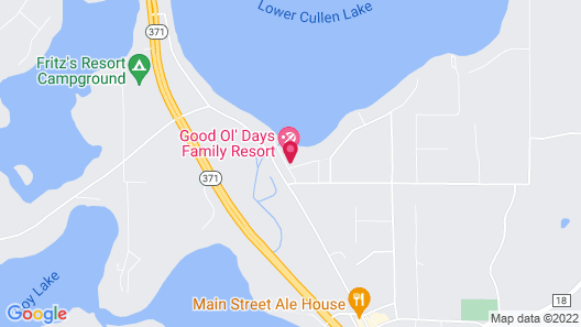 Good Ol' Days Resort Map