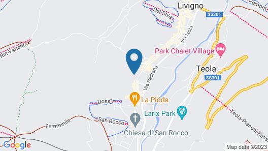 Livì hotel  Map