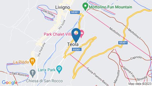 Park Chalet Village Map