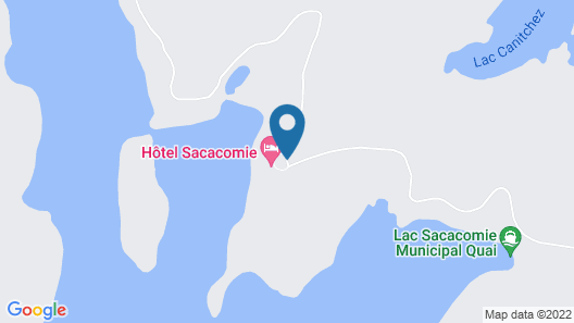 Hôtel Sacacomie Map