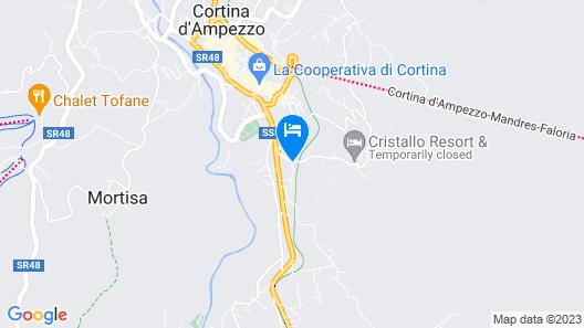 Hotel Serena Map