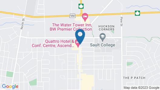 Skyline Motel Map