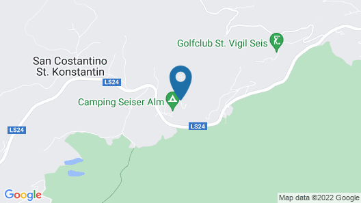 Camping Seiser Alm Map